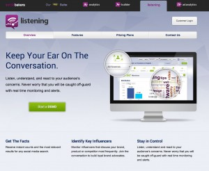 Socialbakers Listening   Overview
